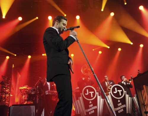 Pop music critic Ken Tucker reviews the new Justin Timberlake album 20/20 Experience:  Timberlake has always been a hard worker, and an early adaptor to the notion of marketing himself as a brand. Perhaps as a side benefit to what has proven his invaluable grooming and training as a Disney Mouseketeer, Timberlake knows that presentation and promotion need not degrade the product. From his own good taste, he knows that product can be transmuted into art. And by instinct and ambition, he wants to showcase that art-product to reach the maximum audience.  Image via the artist
