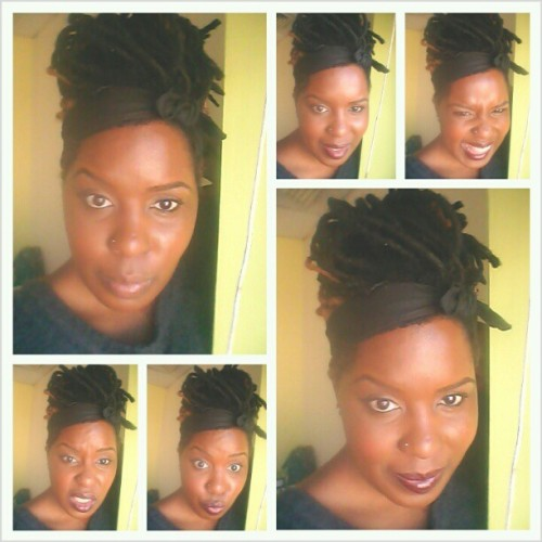 On my sun shiny day ish #jimmycliff #locs #dreadlocks #dreads #bun #hair #nofilter #selfie