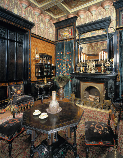 Moorish Smoking Room, The Worsham-Rockefeller House. New York, built circa 1864–65, remodeled circa 1881. Brooklyn Museum, Gift of John D. Rockefeller, Jr., and John D. Rockefeller III, 46.43