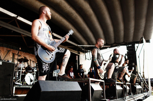 c4ptainblood:  The Acacia Strain // Warped Tour '11 by jordanvoth.com on Flickr.