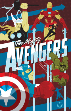 herochan:  The Mighty Avengers Created by Mike Mahle