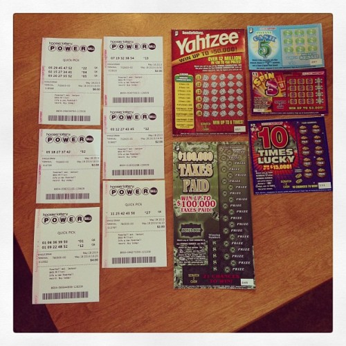 Just bought my first array of lottery tickets 💰 #eighteenthbirthday #gambling #money