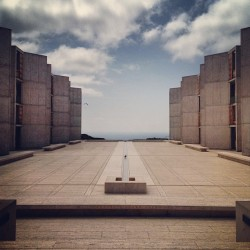 Good revisit to the #SalkInstitute yesterday. More to come… (at Salk Institute)