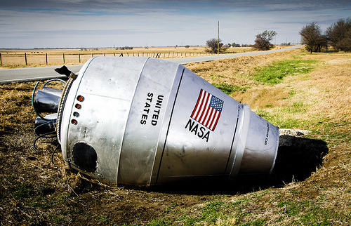 Cement Truck Turned Into NASA Rocket
