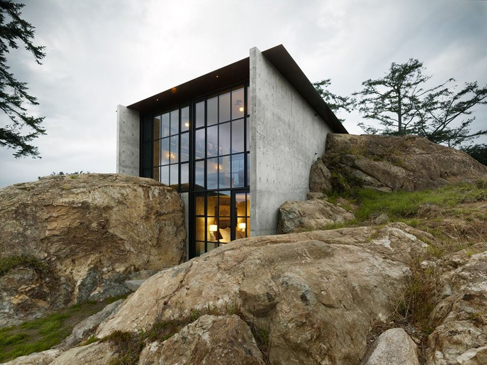 House in the rocks