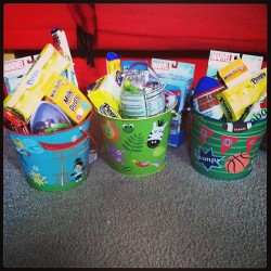 The Easter bunny has visited the Zaperio house :)
