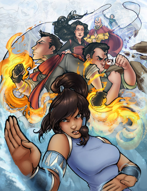 Legend of Korra in color by *ComfortLove