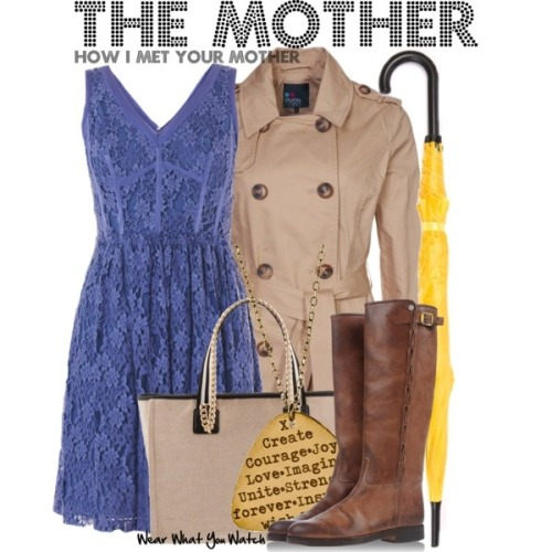 "wearwhatyouwatch:  Inspired by Cristin Milioti as The Mother on ""How I Met Your Mother"" - Shopping info!"