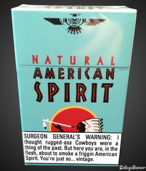 These New Cigarette Warnings Seem a Little Sarcastic [Click for more]