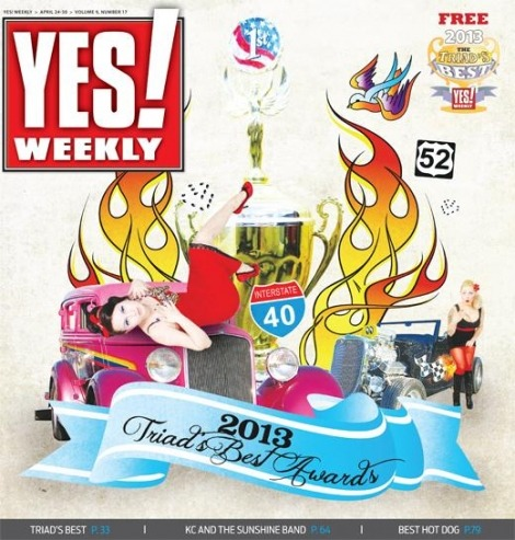 Just got work we placed in the Yes! Weeklys best of the triad thanks to you guys!!! We got runner up for best new band.. I got runner up for best singer and won best pianist. :)