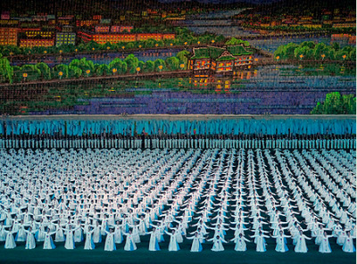 The Arirang mass games in Pyongyang, North Korea, are the largest and most bombastic exercise of state propaganda in the world. These photos from Jeremy Hunter, a British photojournalist, offer a unique window on the world's last hereditary Stalinist regime.