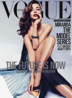extrasexy:  MIRANDA KERR BY MIGUEL REVERIEGO FOR VOGUE AUSTRALIA APRIL 2013