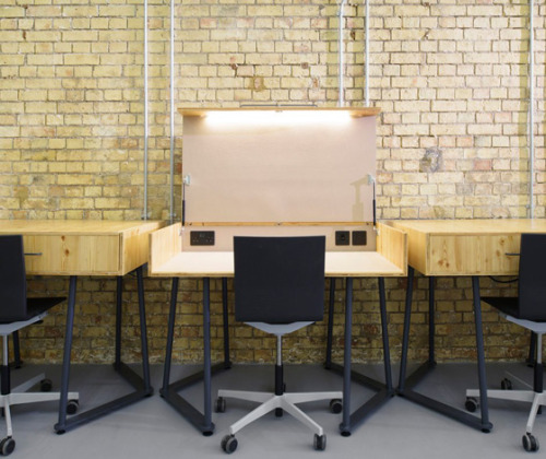 (via Coworking Spaces by TILT for Club Workspace (UK) @ Dailytonic)
