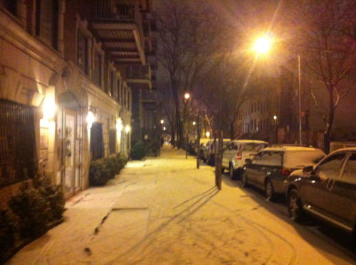 Snow in BK.