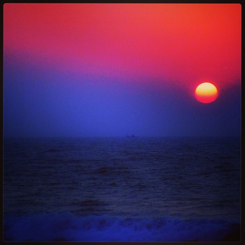 Anjuna Beach Sunset - Goa, India (at Anjuna Beach)