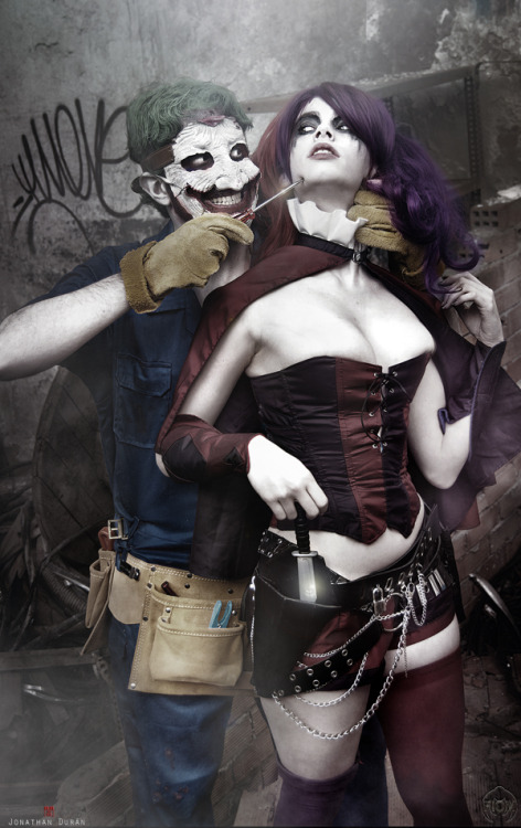 Jillian - Whitelemon and Chaves as Harley Quinn and Joker from New 52 - DC Comics Submitted by nomagikforme [facebook.com/ClintJillianCosplay]
