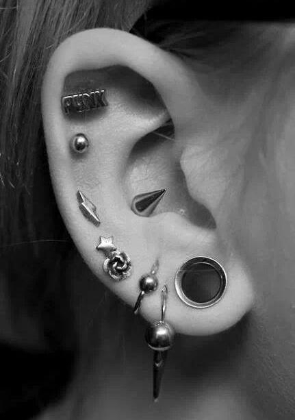 Piercing Piercings Ear Helix Piercing Ear Piercing Helix Conch