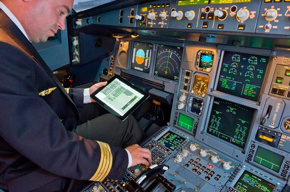 "A pilot uses the FlySmart with Airbus app on an Apple iPad ""In September, a passenger was arrested in El Paso after refusing to turn off his cellphone as the plane was landing. In October, a man in Chicago was arrested because he used his iPad during takeoff. In November, half a dozen police cars raced across the tarmac at La Guardia Airport in New York, surrounding a plane as if there were a terrorist on board. They arrested a 30-year-old man who had also refused to turn off his phone while on the runway. […] Dealing with the F.A.A. on this topic is like arguing with a stubborn teenager. The agency has no proof that electronic devices can harm a plane's avionics, but it still perpetuates such claims, spreading irrational fear among millions of fliers. A year ago, when I first asked Les Dorr, a spokesman for the F.A.A., why the rule existed, he said the agency was being cautious because there was no proof that device use was completely safe. He also said it was because passengers needed to pay attention during takeoff. When I asked why I can read a printed book but not a digital one, the agency changed its reasoning. I was told by another F.A.A. representative that it was because an iPad or Kindle could put out enough electromagnetic emissions to disrupt the flight. Yet a few weeks later, the F.A.A. proudly announced that pilots could now use iPads in the cockpit instead of paper flight manuals. The F.A.A. then told me that ""two iPads are very different than 200."" But experts at EMT Labs, an independent testing facility in Mountain View, Calif., say there is no difference in radio output between two iPads and 200. ""Electromagnetic energy doesn't add up like that,"" said Kevin Bothmann, the EMT Labs testing manager. […] The F.A.A. should check out an annual report issued by NASA that compiles cases involving electronic devices on planes. None of those episodes have produced scientific evidence that a device can harm a plane's operation. Reports of such interference have been purely speculation by pilots about the cause of a problem."" FAA still has no proof that electronic devices harm a plane's avionics"