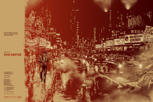 Taxi Driver Movie Poster by Mondo