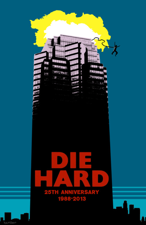 Die Hard 25th Anniversary by Sean Hartter