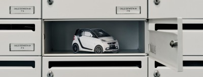 "Smart Car in Your Mailbox Proves ""It Can Park Anywhere""   To demonstrate that a Smart car ""can park anywhere,"" the brand and Spanish ad agency RMG Connect built an adorable direct marketing product. The 3D direct mail piece was placed in mailboxes of people who live in city centers. When residents checked their mail, they found a perfectly-parked Smart car. It communicates the brand's message without saying anything at all, making for an awesome ad. Read more —>"