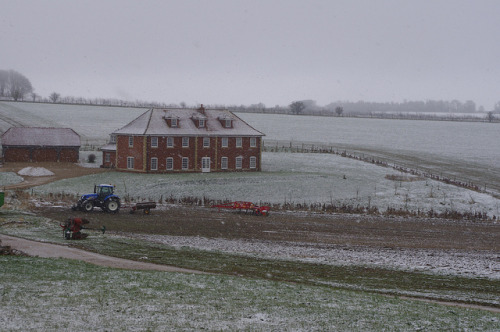 IMGP8264 on Flickr.Farmhouse in the snow.