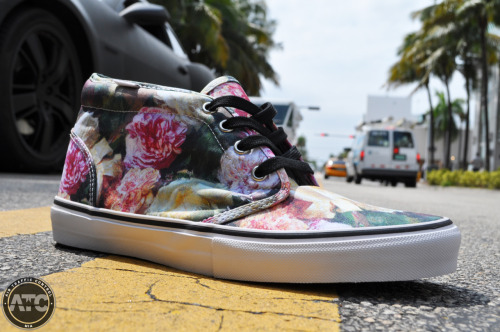 Another look at the Supreme x Vans Chukka collab.