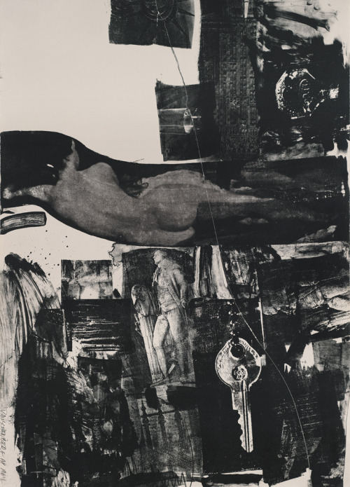 heathwest:  Robert Rauschenberg, Breakthrough I, 1964. Lithograph, 41.5 x 29.5 in.