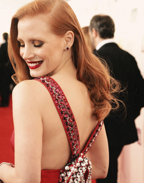 jesschastaindaily:  Jessica Chastain at the 18th Annual Critics' Choice Movie Awards