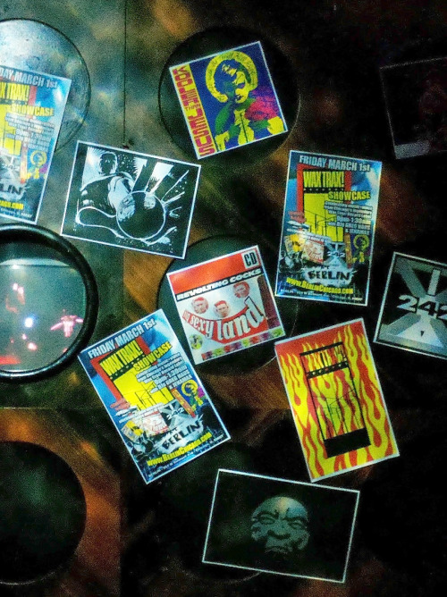 Posters, Wax Trax Showcase, Berlin Night Club, Chicago, 3/1/2013
