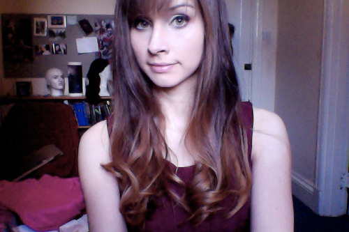 Whoever it was who said ombre when I asked what I should do with my hair won. There's no prize, unfortunately.
