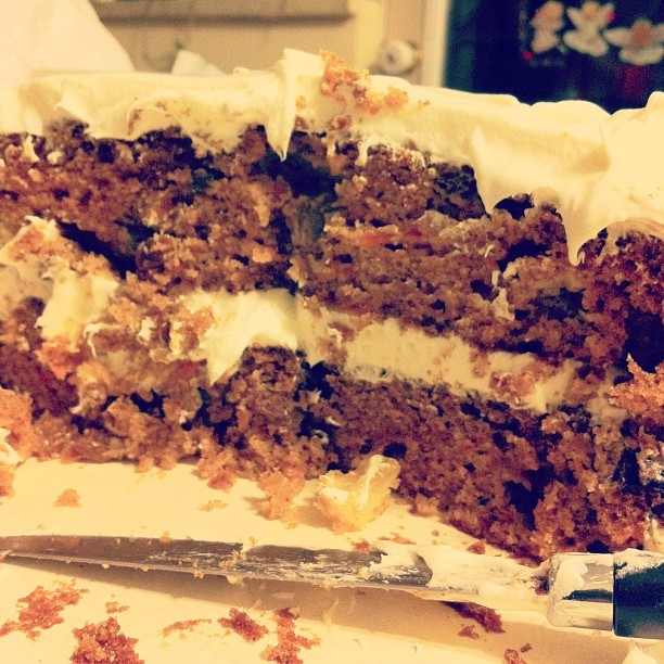 "Gastroposted via Instagram: ""Spicy carrot cake."" by @jeffccoombs 