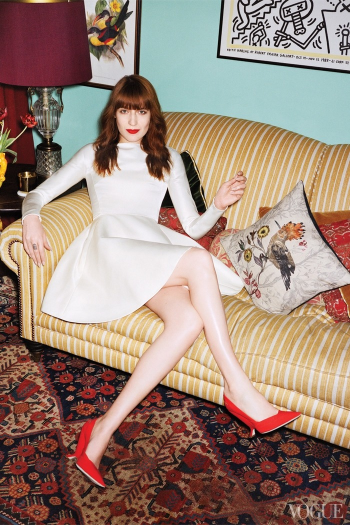 (via Lace & Tea » Florence Welch's London Home)