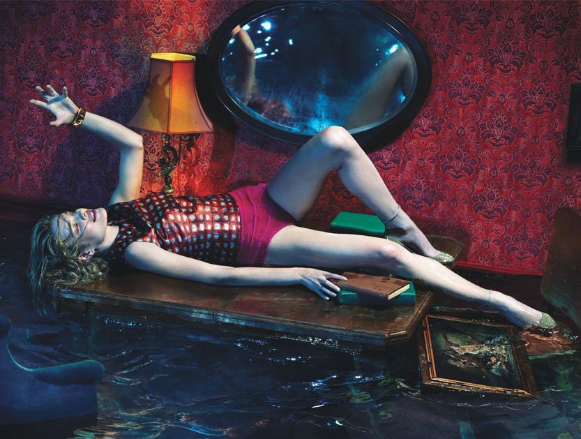 Natalia Vodianova Photographed by Mert Alas & Marcus Piggott for W Magazine December 2012