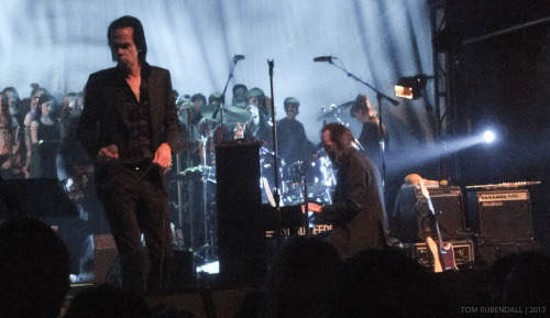 NICK CAVE & THE BAD SEEDS FONDA THEATER - HOLLYWOOD - 2.21.2012 We No Who U R Wide Lovely Eyes Water's Edge Jubilee Street Mermaids We Real Cool Finishing Jubilee Street Higgs Boson Blues Push the Sky Away From Her to Eternity O Children The Ship Song Jack the Ripper Red Right Hand Deanna Love Letter The Mercy Seat Stagger Lee