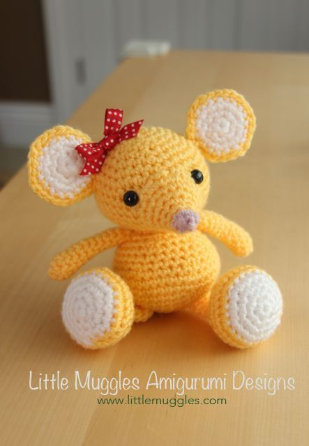 crochet mouse Tumblr