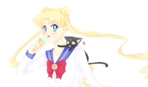 girlsbydaylight:  Usagi Tsukino. by ~Amai-Kawaii