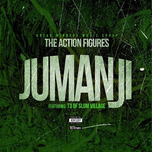"MP3/FREE DOWNLOAD: The Action Figures | ""Jumanji"" ft T3 of Slum Village (produced by Young RJ) from the upcoming release ""Courage or Currency"".Stream/Downloadtwitter.com/RealTeamAFtwitter.com/t3svtwitter.com/youngrjdetroittwitter.com/slumvillagetwitter.com/governorslugwel"