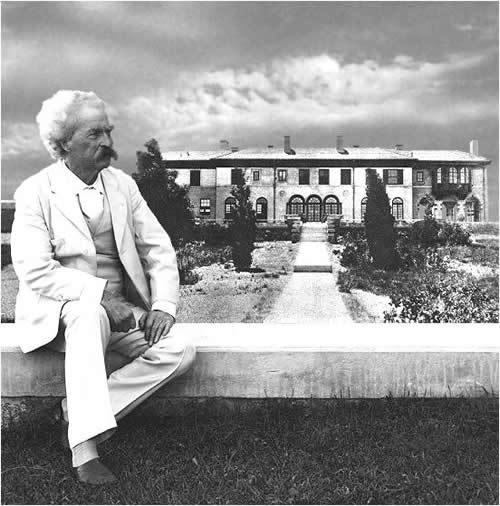 "theparisreview:   Happy 2013, From Mark Twain   ""Now is the accepted time to make your regular annual good resolutions. Next week you can begin paving hell with them as usual. Yesterday, everybody smoked his last cigar, took his last drink, and swore his last oath. Today, we are a pious and exemplary community. Thirty days from now, we shall have cast our reformation to the winds and gone to cutting our ancient shortcomings considerably shorter than ever. We shall also reflect pleasantly upon how we did the same old thing last year about this time. However, go in, community. New Year's is a harmless annual institution, of no particular use to anybody save as a scapegoat for promiscuous drunks, and friendly calls, and humbug resolutions, and we wish you to enjoy it with a looseness suited to the greatness of the occasion.""   —Mark Twain, Letter to Virginia City Territorial Enterprise, Jan. 1863    Also relevant."