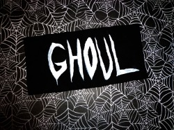 Purchase here:   https://www.etsy.com/listing/151507772/ghoul-patch https://www.facebook.com/battybootique