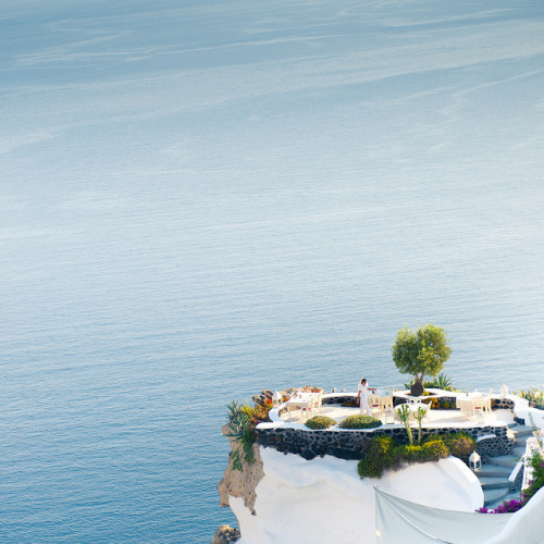 at-the-corner-down-the-street:  Greece Santorini by ►CubaGallery on Flickr.
