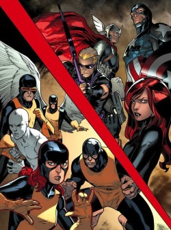 Avengers vs. All New X-Men in All New X-Men #8? Check out this first look at Avengers vs. X-Men #8, in which the All New X-Men come face to face with the Avengers. Read More