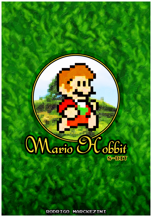 it8bit:  Mario Hobbit T-shirts, Stickers and Prints @Redbubble Created & submitted by Rodrigo Marckezini  Facebook || Tumblr