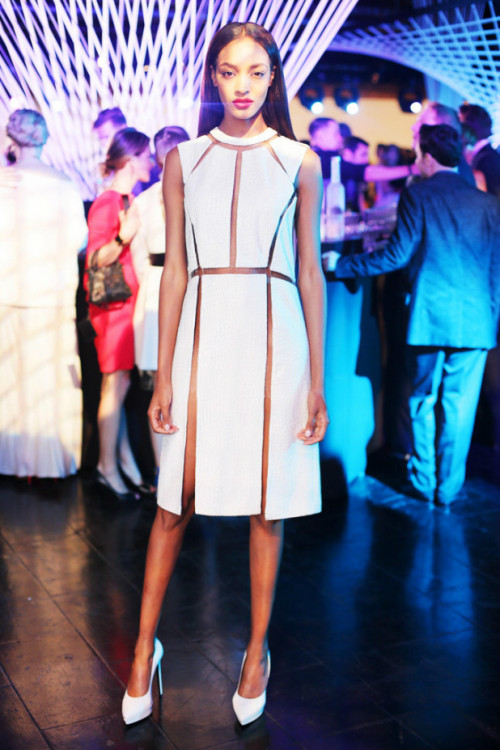 lapeste:  Jourdan Dunn at the Whitney Museum Art Party
