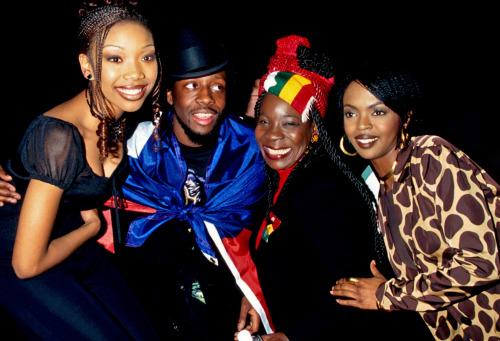 misterand:  Brandy, Wyclef, Rita Marley and Lauryn Hill