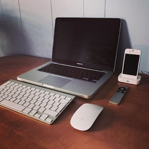 Mac setup. #apple #macbook #iphone
