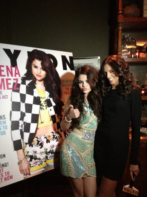 @TerriSeymour: Asked @SelenaGomez last nite which member of @onedirection she would kiss if she had 2 choose..she picked @zaynmalik.