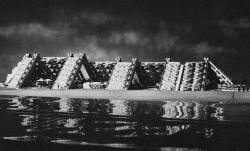 fuckyeahbrutalism:  Design Development Model, Habitat '67, Montreal, Canada, c.1965 (Moshe Safdie with David, Barrott and Boulva)