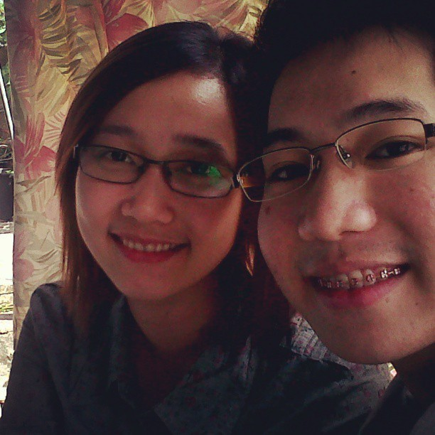 #throwback with @markkencervantes i miss you :( #eyeglasses #brother #love #christmas #reunion #2012 (at San Vicente Ebus Guagua)