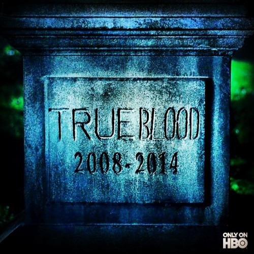 My show 😭😭😭 beginning of the end. No more #sookie #bill #eric #lafayette #tara #truetotheend #trueblood #hbo